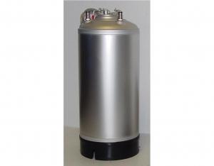 Edelstahlfass 18 Liter NC ohne Gummikragen