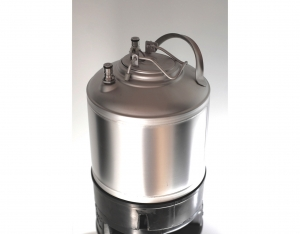 Stainless steel barrel 9 liters NC